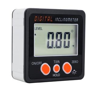 Image 5 - Inclinómetro Digital para transportador, caja de nivel, herramienta de medición de nivel, medidor de ángulo electrónico, buscador de ángulo, Base magnética
