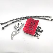 Oil Cooler Cooling Radiator Hose Bolt Kit for Pit Dirt Bike 110cc 125cc 140cc 150cc