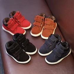 العلامة التجارية الجديدة جلد طبيعي وجوه الأحذية واحدة الفتيان والفتيات حذاء كاجوال أحذية الأطفال حذاء طفل