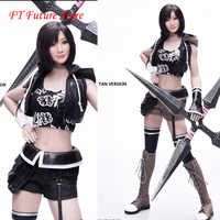 Collectible In Stock 1/6 Scale  Sexy Female Fighting Clothes CT015 Fantasy Character set with Head Sculpt for 12'' Action Body