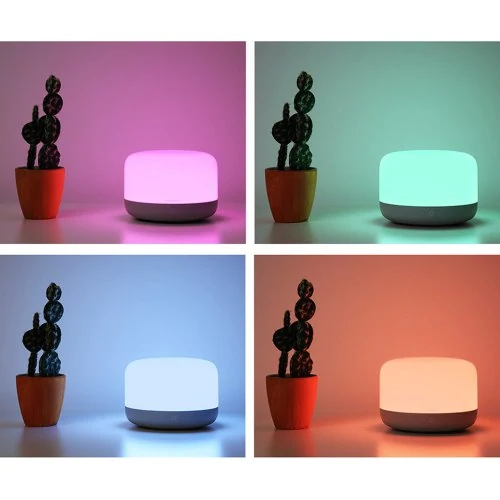 Image 5 - Xiaomi mijia Yeelight YLCT01YL Colorful LED Smart Mi Bedside Lamp  Intelligent Dimmable Night Light APP Control work with HomeKitSmart  Remote Control