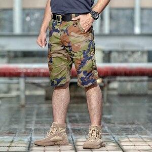 Image 2 - Khu Vực 7 2020 Mùa Hè Mới Nam Ngụy Trang Chiến Thuật Hàng Hóa Váy Nam Silm Làm Việc Quần Short Người Quân Quân Sự Ngắn Quần