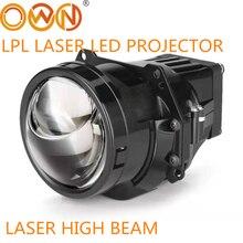 """DLAND OWN LPL BI Láser LED lente de Proyector, 3 """", engrasada con excelente haz bajo y Láser LED, Luz De Carretera de asistencia"""