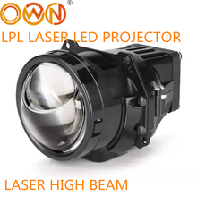 "DLAND OWN LPL BI LED LASER PROJECTOR LENS 3"" BILED WITH EXCELLENT LOW BEAM AND LED LASER ASSISTING HIGH BEAM"
