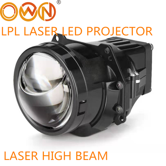 """Dland Riêng Lpl Bi Led Máy Chiếu Laser Ống Kính 3 """"Biled Cực Chùm Thấp Và Đèn LED Laser Giúp Việc Cao chùm Tia"""