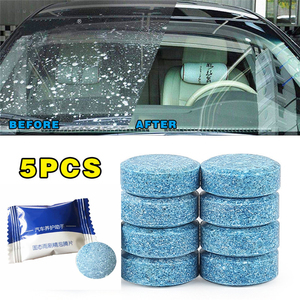 5PCS/Pack (5PCS=20L Water) Car Windshield Glass Cleaner Car Solid Tablets Wiper Fine Wiper Auto Window Cleaning Car Accessories(China)