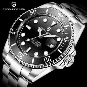 2020 PAGANI DESIGN orologio da uomo meccanico automatico di marca 100M orologio da polso sportivo da uomo in vetro zaffiro impermeabile Relogio Masculino