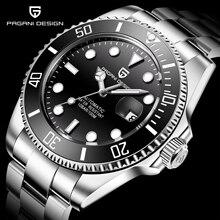 2020 PAGANI дизайнерские брендовые автоматические механические мужские часы 100 м водонепроницаемые мужские спортивные наручные часы с сапфировым стеклом Relogio Masculino