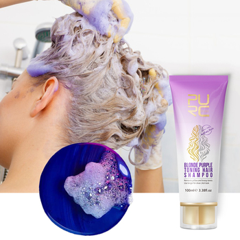 11.11 No Yellow Blonde Shampoo Purple Hair Shampoo Ultravioleta UV Ash Gray Silver Shampoo Long Lasting Hair Dye Color Treatment
