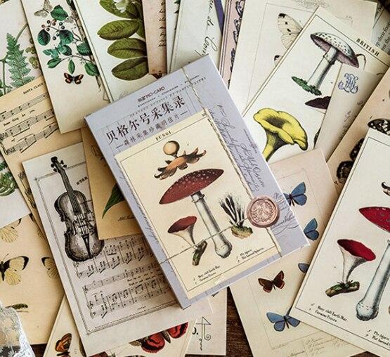 Far Ship Paper Postcard(1pack=30pieces)