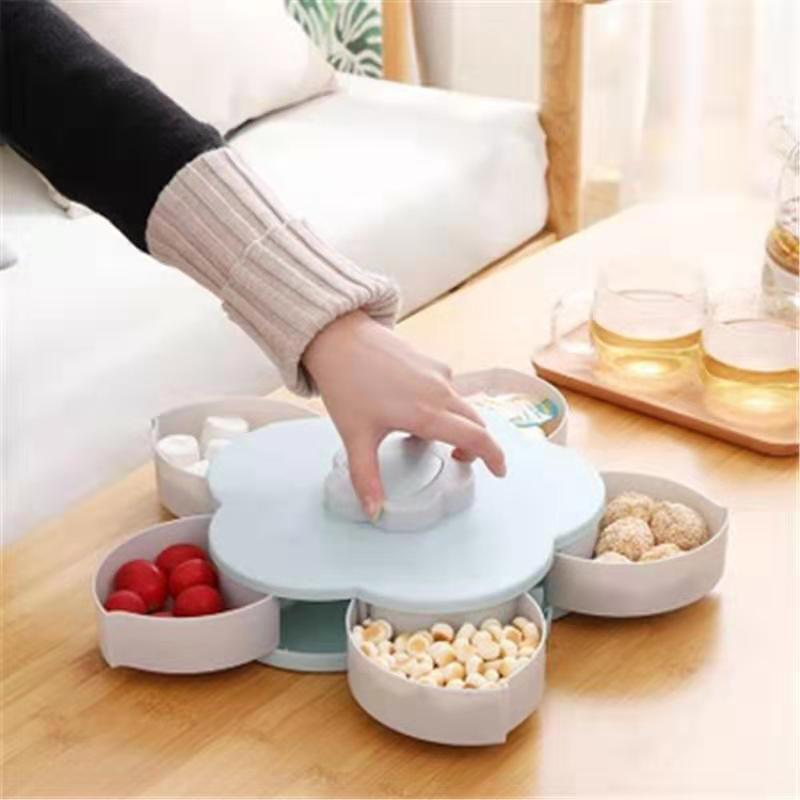 Dried Fruit Tray AE Plastic Material Multiple Small Box Assembly