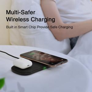 Image 3 - CHOETECH Qi Pad di Ricarica Caricatore Senza Fili 18W 5 Bobine per iPhone12 X Max 8 Veloce Wireless Pad di Ricarica per airPods 2 Pro