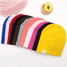 Nuevo Bebé baile callejero Hip Hop sombrero algodón primavera otoño niño sombrero bufanda para niños niñas gorra invierno cálido Color sólido niños sombrero