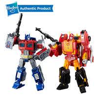 Hasbro Trasformatori di Potenza della Serie di Numeri Primi Leader Ast 8.75 Pollici Optimus Prime E 9.75 Pollici Rodimus Prime Rodimus Unicronus