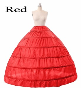 Image 3 - Enagua nupcial, 6 aros, vestido de baile, enagua nupcial, púrpura, rojo, azul