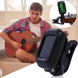 Image 5 - Folk Acoustic Guitar Tuner Violino Ukulele Basso Elettronico Sintonia Tuner Strumento Musicale A Corde di Accessori Per Chitarra Basso Tuner