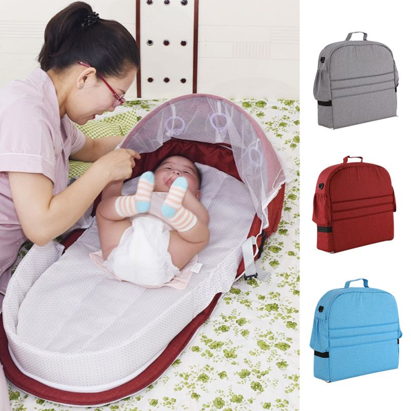 Portable Mobile Crib Baby Nest Cot