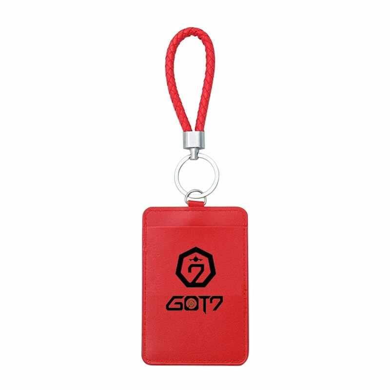 KPOP GOT7 Badge Business Bus Pass Card Set ID Kaarthouder Case Cover Briefpapier Set Kantoorbenodigdheden Studenten Geschenken