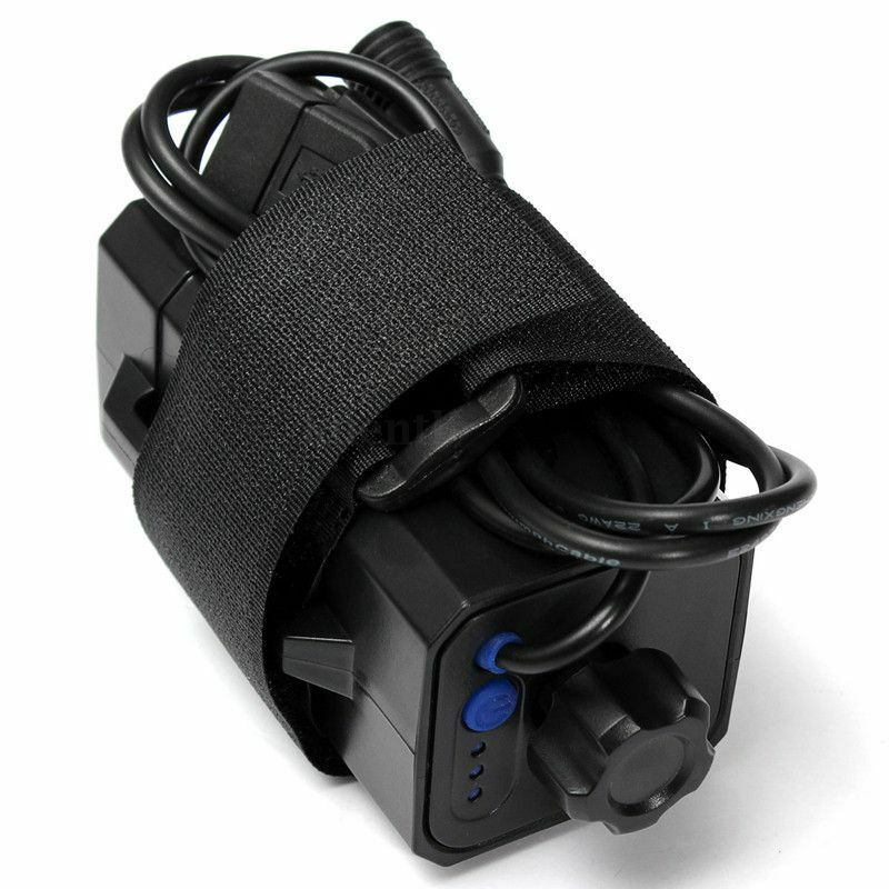 Hot 8.4V 4 x <font><b>18650</b></font> Cycling Safety Waterproof Battery Pack Case House Cover Storage Case <font><b>Box</b></font> Holder For <font><b>Bike</b></font> LED Light C H7K6 image