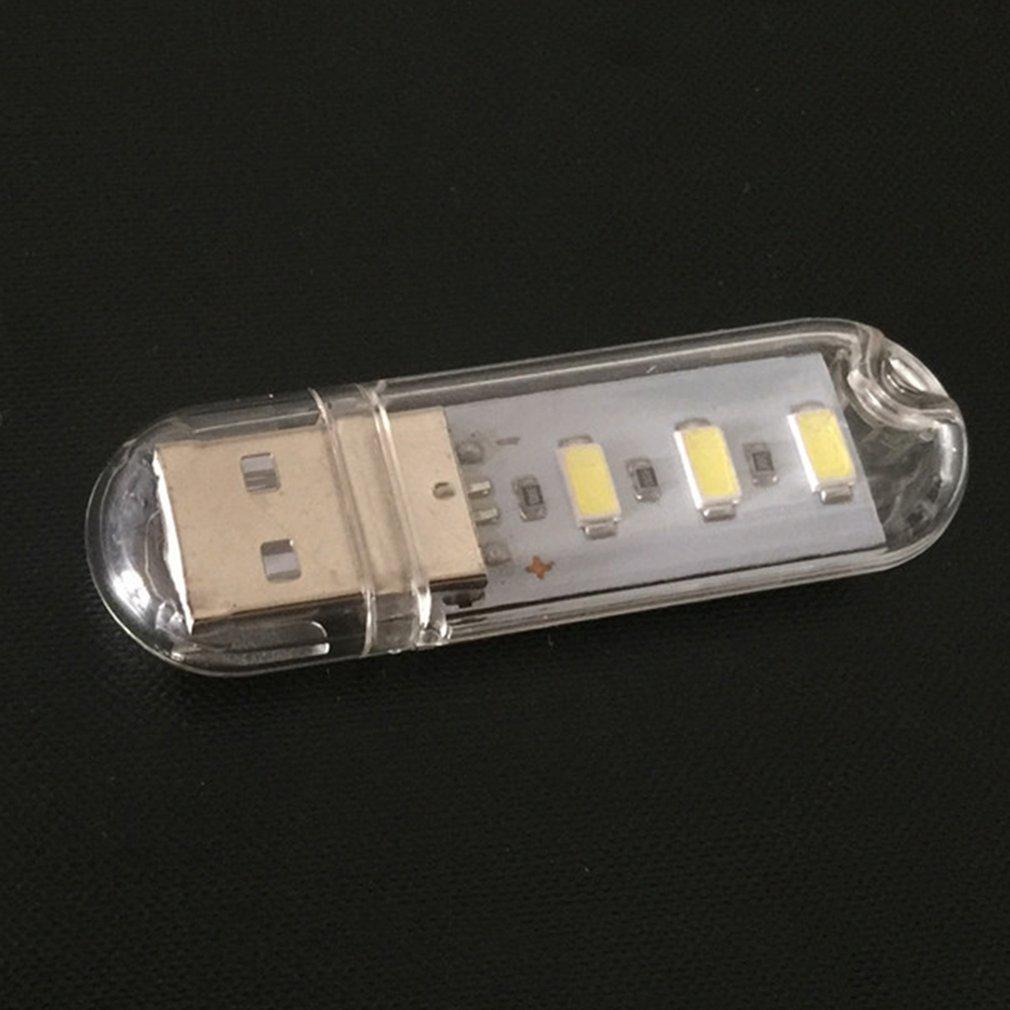 High-brightness LED USB Flashlight USB Light USB Computer Light 5V Charging Treasure Night Light 5V U Disk Light For Laptop