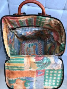 Image 5 - Vintage Leather Mens Backpack Casual Computer Bag Men Travel Backpacks Schoolbag Retro Simple Polishing Old Distressed Leather