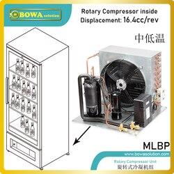 Agregat skraplający chłodzony powietrzem 0 75 km jest wyposażony w hermetyczne sprężarki obrotowe  separator oleju  komponenty 3 w 1 itp.  wspaniały projekt