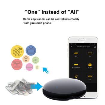 AVATTO Tuya WiFi IR Remote Control for Air Conditioner TV, Smart Home Infrared Universal Remote Controller For Alexa,Google Home 2