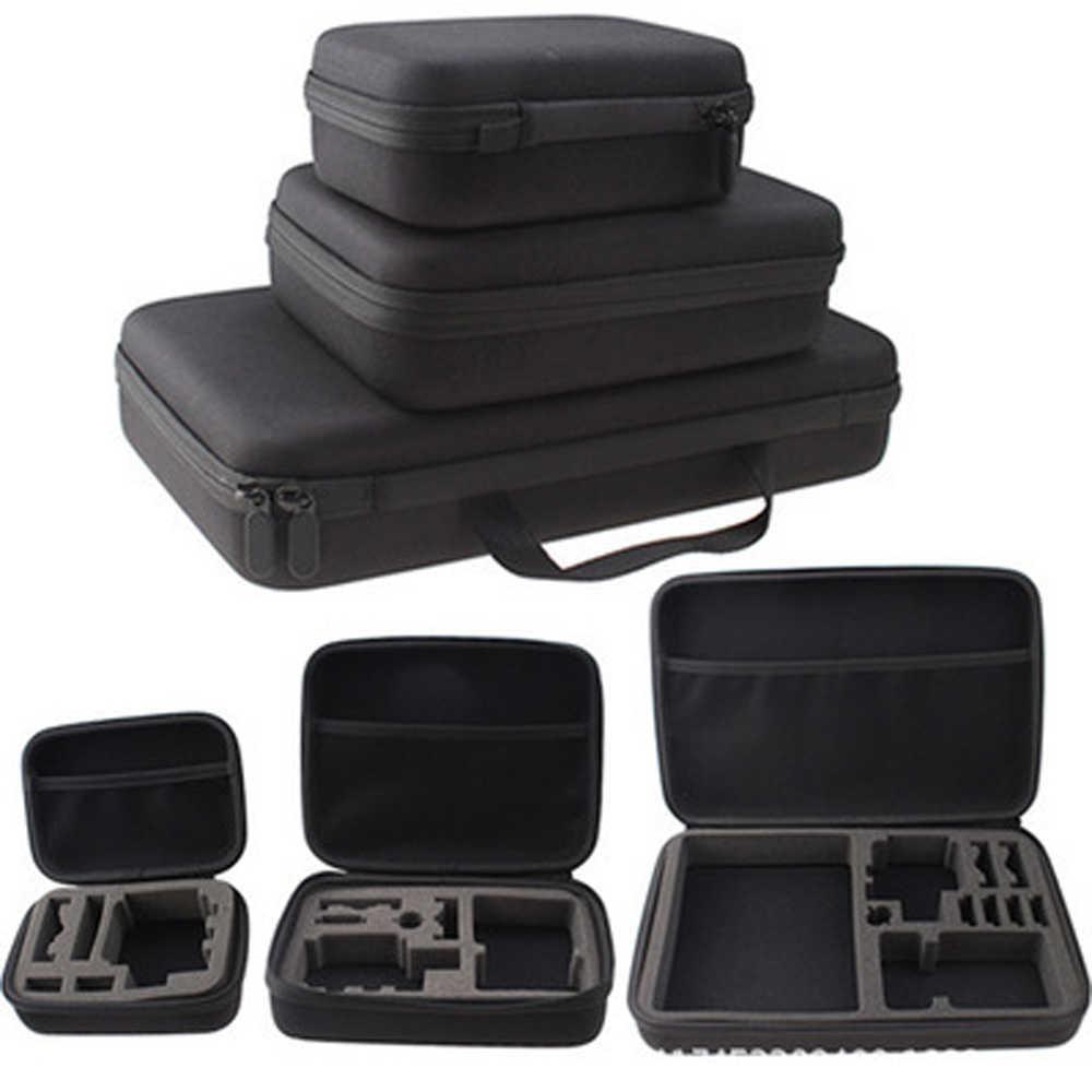 Аксессуары для экшн-камеры S M L Размер сумка для Gopro Hero 6 5 Xiaomi Yi 4K Портативный чехол для камеры коробка для спортивной камеры OSMO EKEN H9