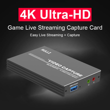 Game-Recording Video-Capture-Card Live-Streaming-Plate OBS Tv-Loop XBOX Hdmi-Compatible