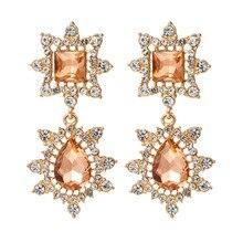 цены на Fashion Statement Earrings 2019 Hanging Dangle Earrings Drop Earing Modern Jewelry Big Geometric Earrings For Women  в интернет-магазинах