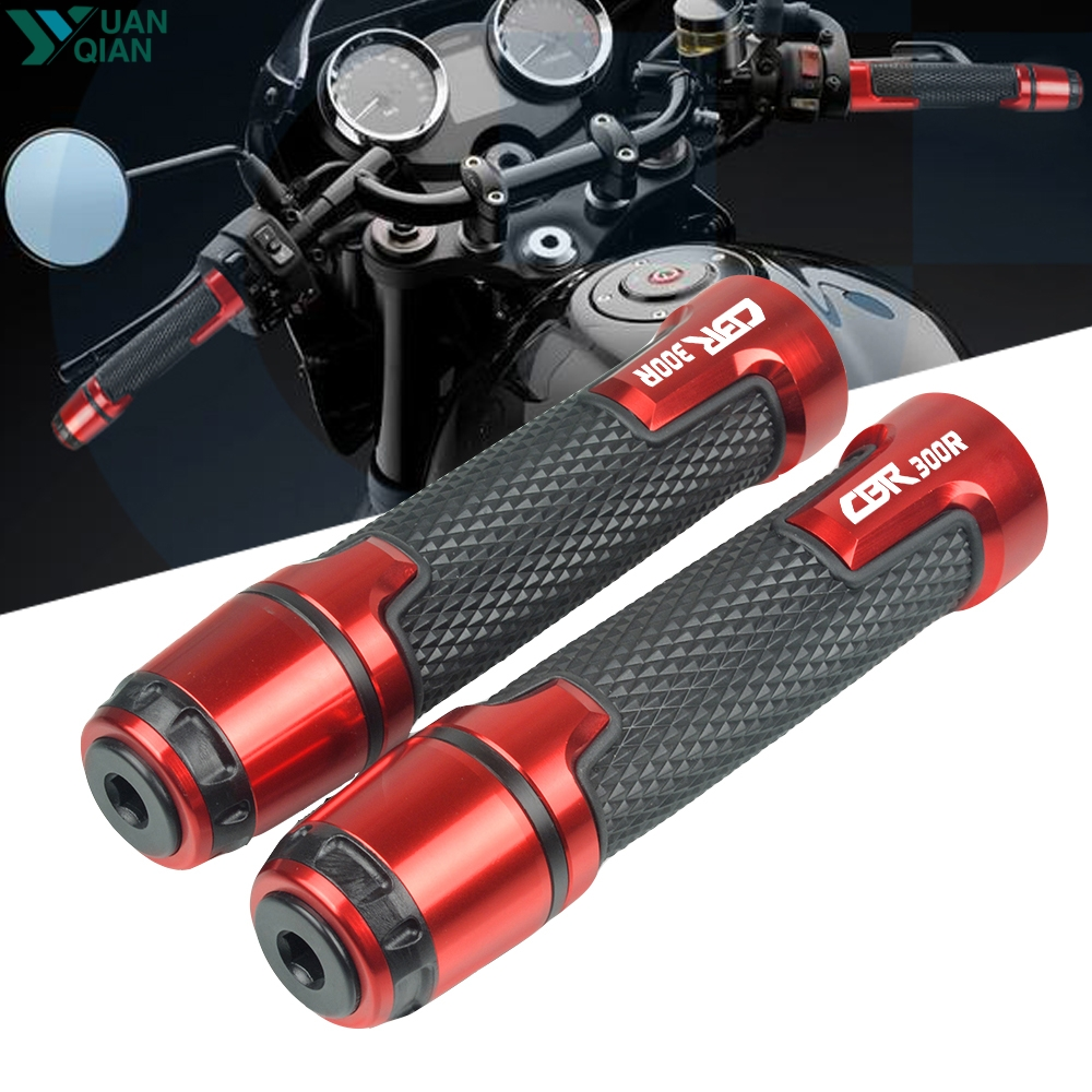 For Honda CBR300R CBR 300 R CBR 300R 2014-2018 CNC Street & Racing Moto Racing Grips Motorcycle Handle And Ends Handlebar Grip