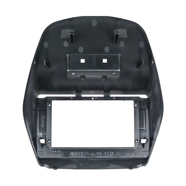 Auto da 10.1 pollici Fascia Per HYUNDAI IX35 2011-2017 Doppio Din Car Dvd Frame Installare Pannello Staffa di Montaggio Installazione trim Kit