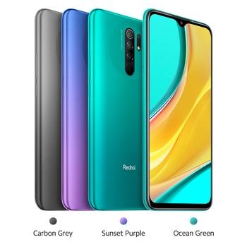 "Global Version Xiaomi Redmi 9 Mobile Phones  NFC Helio G80 32GB 64GB 6.53"" FHD+ Screen 13MP AI Quad Cams Smartphone 5020mAh 5"