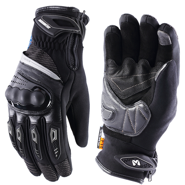 MASONTEX gants de Moto dhiver pour hommes et femmes, thermiques et imperméables, coupe vent, pour faire de la randonnée, pour Moto, avec écran tactile, chaud