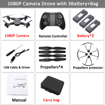 Visuo XS816 RC Drone with 50 Times Zoom WiFi FPV 4K Dual Camera Optical Flow Quadcopter Foldable Selfie Dron VS SG106 M70 15