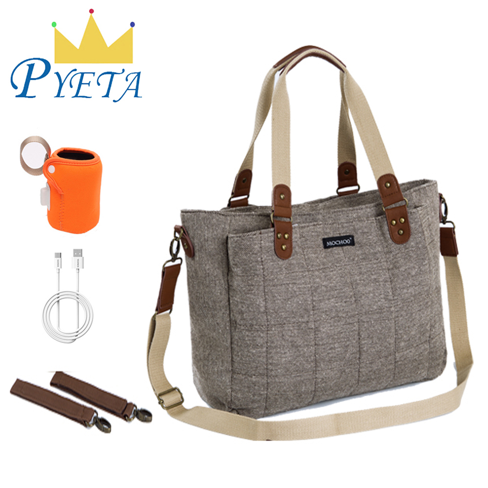 PYETA Baby Diaper Backpack Bolsa Maternidade Bag Nappy Bag Multifunction Travel Nappy Bag For Stroller Baby Stuff Organizer