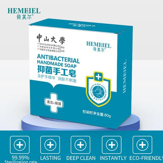 HEMEIEL Hand Soap Handmade Soap Disinfection Tea Tree Essence Pimple Acne Treatment Face Soap Hand Body Wash Sterilize Skincare 1