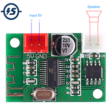 5V Bluetooth Versterker Module 5W Mono Klasse D Draadloze Lossless Muziekspeler Digitale Versterker Afgewerkt Boord