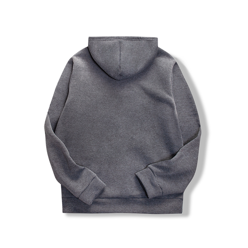 19 women's long-sleeved plain hooded sweatshirt plain multi-color men's and women's casual pullover hoodie 23