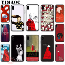 YIMAOC The Handmaid Is Tale Soft Silicone Case for iPhone XR X XS Max 8 7 6S 6 Plus 5S SE TPU Cover atwood m the handmaid s tale