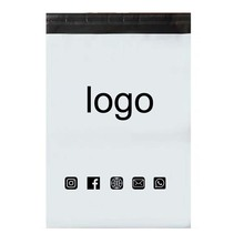 100pcs Custom Courier  Bag With Logo Self Seal Plastic  Envelope Packing Printing Mailing ExpressBags