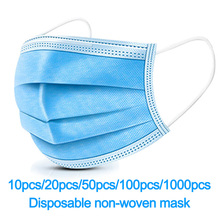 Unisex Masks 3 Layers men Non woven Face Mask women Anti Virus Dust Mouth Nose Cover Anti Bacterial Anti fog and haze PM2.5 Mask