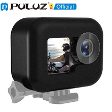 PULUZ Foam Windshield Windslayer Case for DJI Osmo Action with Frame Camera Noise Reduction Housing Case