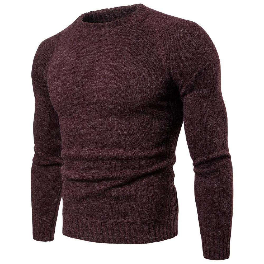 Autumn Men's Sweaters Guy Boy  Cotton Sweaters Male Casual Warm Sweater