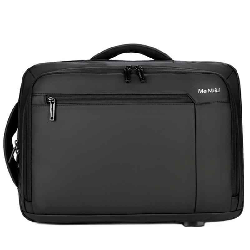 Men Real Big Capacity Handbag Multi-function Business Travel Briefcase Casual Laptop Bag  For Working Male NEW XA507ZC