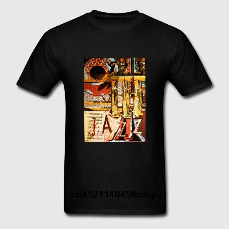 100% Cotton O-neck Custom Printed Men T shirt Jazz Trumpet Women T-Shirt