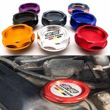 Автомобильные аксессуары, Крышка Для MUGEN, крышка для топлива Honda, крышка для масла Civic, подходит для защиты от высоких температур, высокого да...