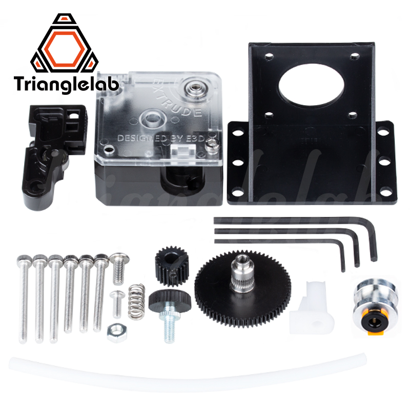 cheapest Trianglelab 3D printer titan Extruder for 3D printer reprap MK8 J-head bowden free shipping for CR10 i3 ender 3
