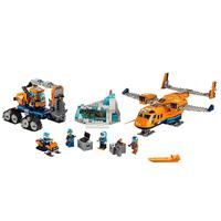 Arctic Supply Plane Compatible Legoe City Arctic Expedition 60196 Building Blocks Bricks Model toys for Childrens kid gift