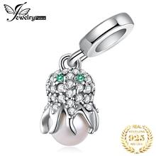 JewelryPalace 925 стерлингового серебра осьминог шармов оригинальный Пандора браслет оригинальные украшения делать